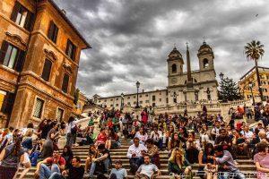 מדרגות ספרדיות רומא
