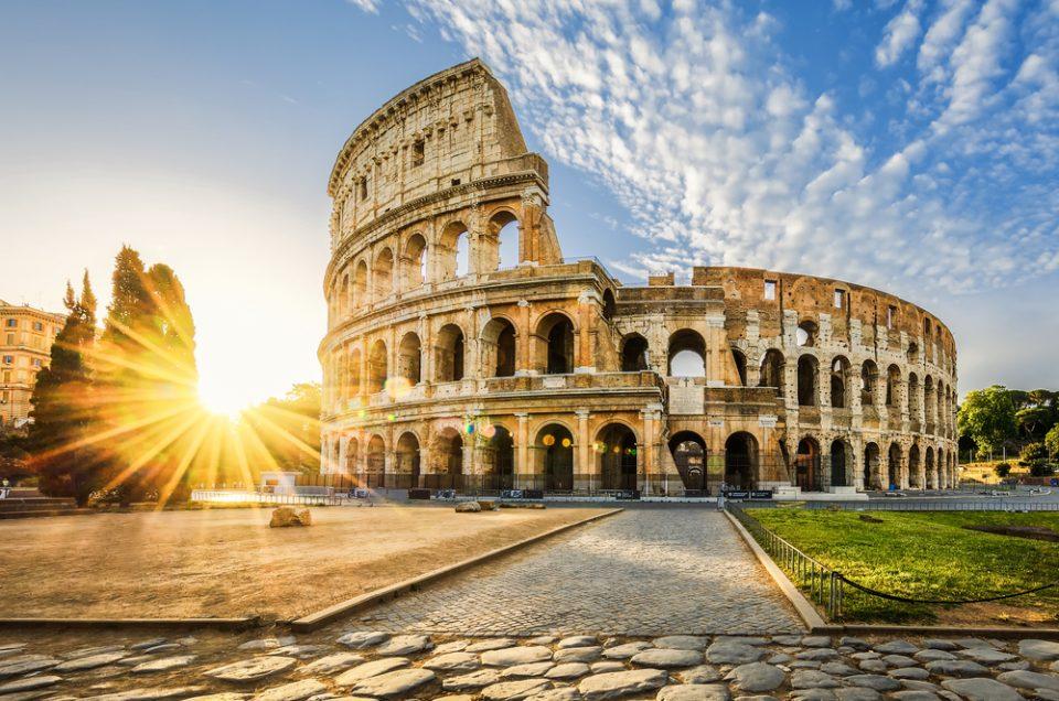 מסלול רומא -נמל צ'ווויטווקיה- רומא כיכרות ומזרקות