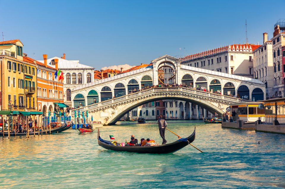 סיור רגלי בונציה