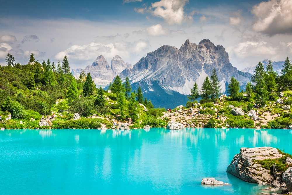 Lago carezza אגם הלטיפה דולומיטים
