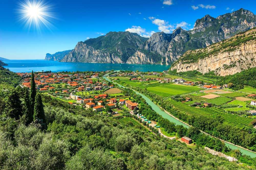 Lake Garda,Torbole גארדה