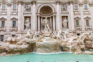 רומא מזרקת המשאלות