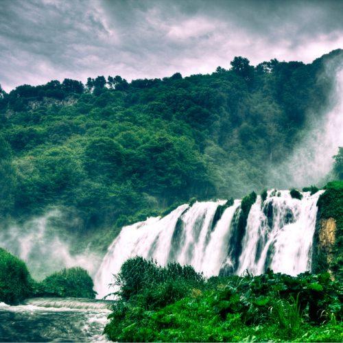 Marmore waterfalls UMBRIA מפלי השיש אומבריה