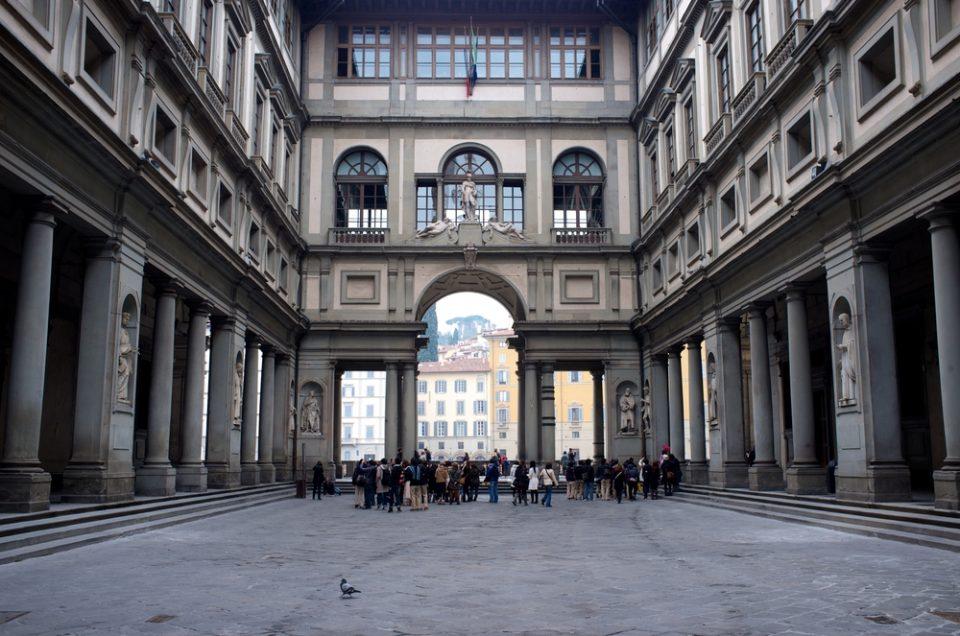 סיור פרטי בגלריית האופיצי בפירנצה