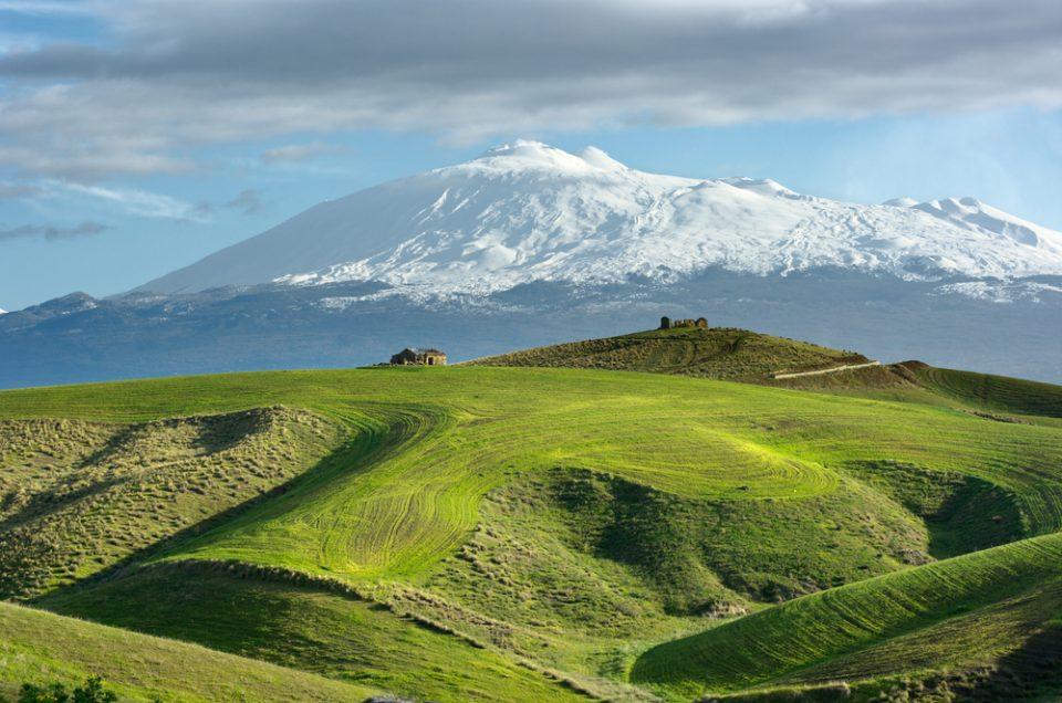 הר הגעש אתנה וטאורמינה